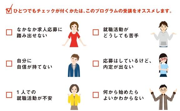 ホンキの就職4Days(11月・12月開催済)